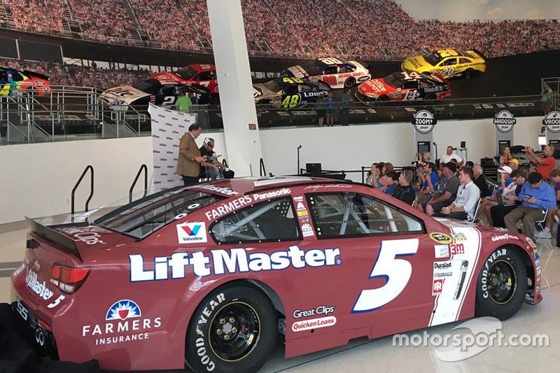 Kasey Kahne, No. 5 Hendrick Motorsports Chevrolet