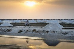 CS Santosh, Hero MotoSports Team Rally in the salt fields of Rann of Kutch