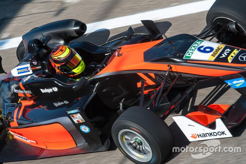 Callum Ilott, Van Amersfoort Racing Dallara F312 - Mercedes-Benz