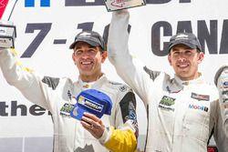 GTLM podium: 2. #4 Corvette Racing, Chevrolet Corvette C7.R: Oliver Gavin, Tommy Milner