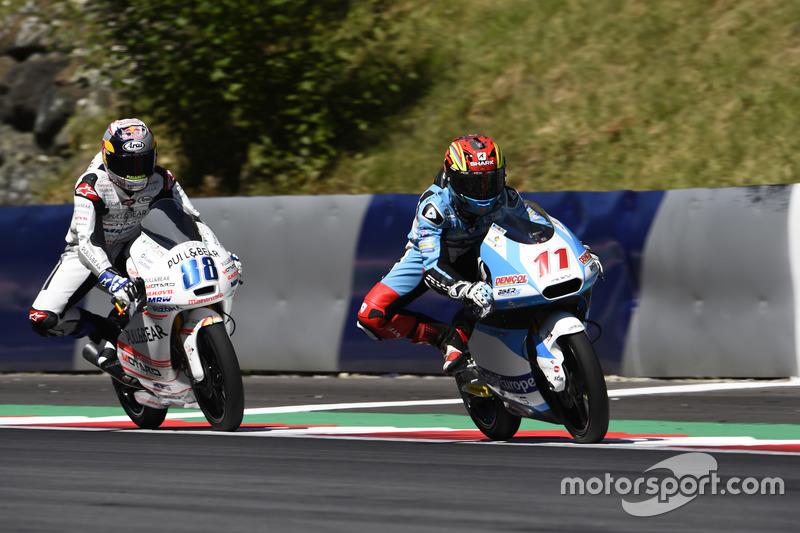 Livio Loi, RW Racing GP BV, Honda; Jorge Martin, Aspar Team Mahindra, Mahindra