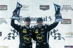 PC podium: Robert Alon, Tom Kimber-Smith, PR1 Mathiasen Motorsports
