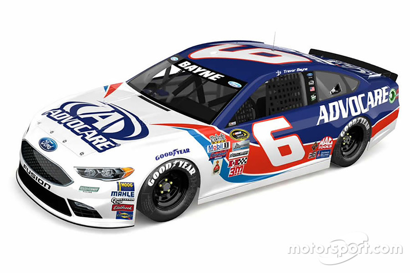 Throwback-Design von Trevor Bayne, Roush Fenway Racing, Ford