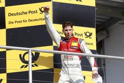 Podium: Sieger Edoardo Mortara, Audi Sport Team Abt Sportsline, Audi RS 5 DTM