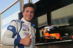 Race 1 winner Mauricio Baiz, Mücke Motorsport