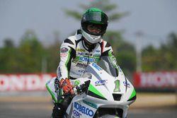 Race winner Takehiro Yamamoto