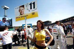 Gadis grid,of Marco Wittmann, BMW Team RMG, BMW M4 DTM