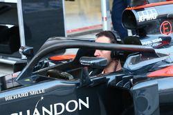 McLaren prueba el dispositivo Halo