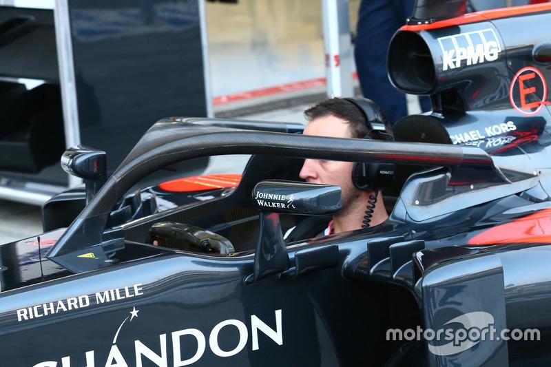 McLaren тестирует Halo