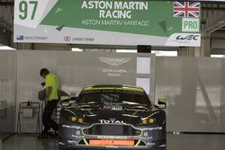 #97 Aston Martin Racing Aston Martin Vantage GTE: Richie Stanaway, Darren Turner