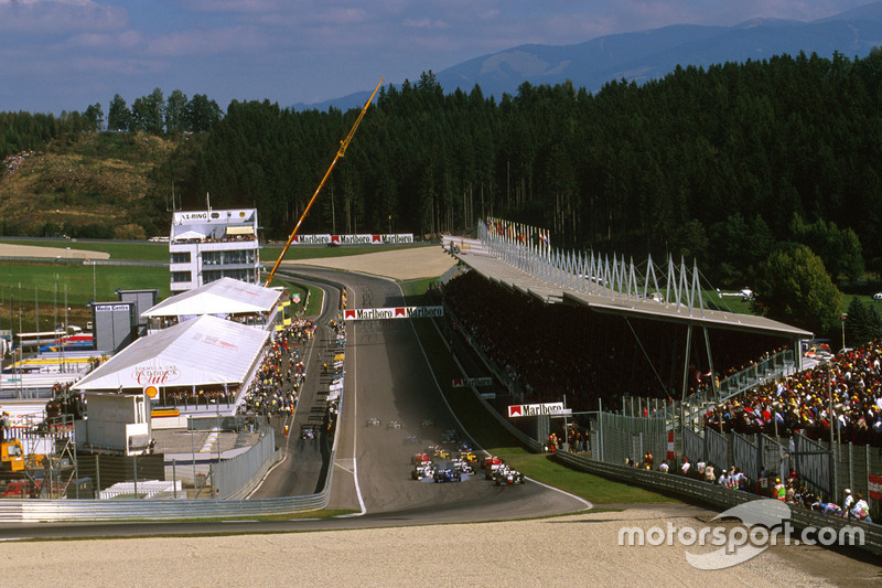 A-1 Ring, actual Red Bull Ring (Spielberg)