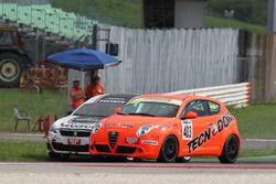Kevin Giacon, Tecnodom, Alfa Romeo Mito-TCS 1.4 e Renato Gaiofatto, 2T Course & Reglage, Peugeot 308-TCS