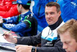 Autograph session: Fredrik Ekblom, Polestar Cyan Racing, Volvo S60 Polestar TC1