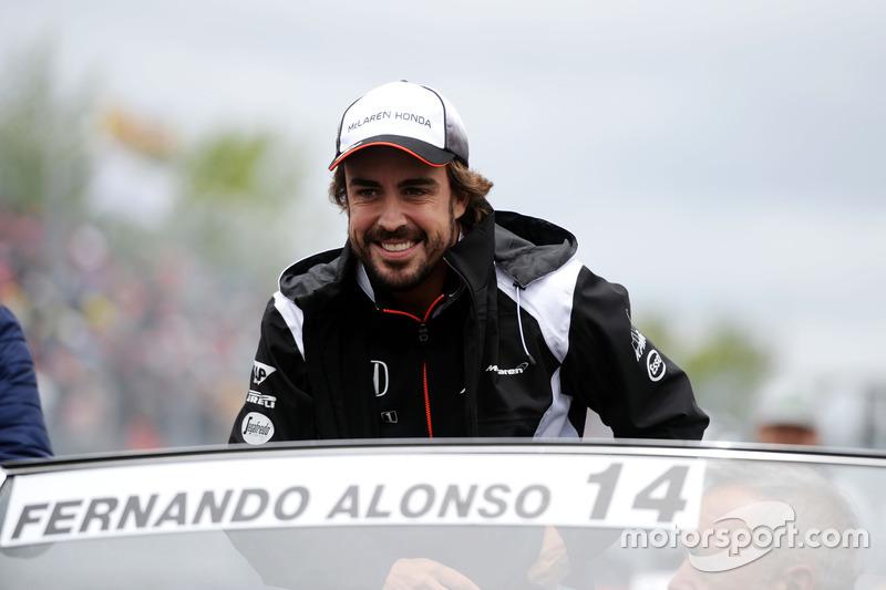 Фернандо Алонсо, McLaren на параді пілотів