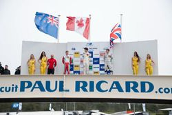 Podium, rostrum, Nick Cassidy, Prema Powerteam Dallara F312 – Mercedes-Benz, Lance Stroll, Prema Pow