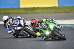 #11 Team SRC Kawasaki: Mathieu Lagrive #13 Penz13.com - BMW Motorrad Team: Mathieu Gines