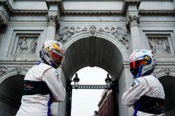 Sam Bird, DS Virgin Racing bezoekt Marble Arch