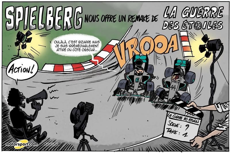 GP d'Autriche - Spielberg nous offre un remake de la Guerre des étoiles