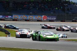#16 GRT Grasser Racing Team, Lamborghini Huracan GT3: Davide Valsecchi, Stefan Rosina