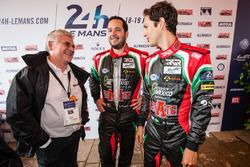 #43 RGR Sport by Morand Ligier JSP2 Nissan: Ricardo Gonzalez and Bruno Senna with Jacques Nicolet