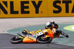 Davide Pizzoli, Procercasa - 42 Motorsport, crash