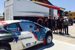 Quentin Giordano, Thierry Salva, Sébastien Loeb Racing, Peugeot 208 T16