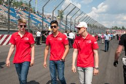 Juri Vips, Prema Powerteam; Juan Manuel Correa, Prema Powerteam; Mick Schumacher, Prema Powerteam