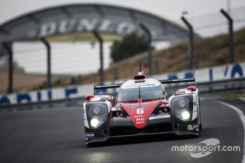 3. LMP1: #6 Toyota Racing, Toyota TS050 Hybrid