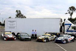 Miedecke Stone Motorsport Aston Martin presentation