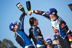 Anders Jæger, Julien Ingrassia, Sébastien Ogier, Volkswagen Motorsport