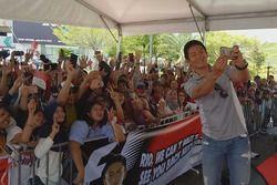 Rio Haryanto, Meet and Greet, Sepang, Malaysia