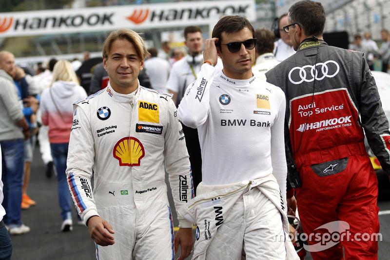 Аугусту Фарфус, BMW Team MTEK, BMW M4 DTM и Бруно Спенглер, BMW Team MTEK, BMW M4 DTM
