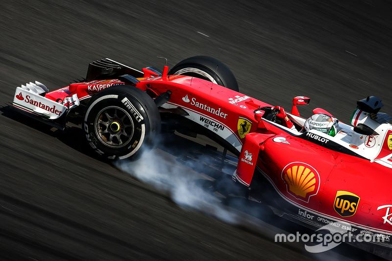 Verbremser: Sebastian Vettel, Ferrari SF16-H