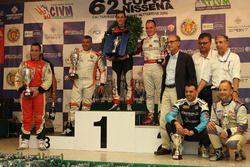 Il podio della 62esima Coppa Nissena