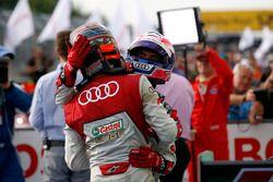 Edoardo Mortara Audi Sport Team Abt Sportsline, Audi RS 5 DTM en Miguel Molina Audi Sport Team Abt S
