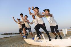 Des participants au Yamaha VR46 Master Camp