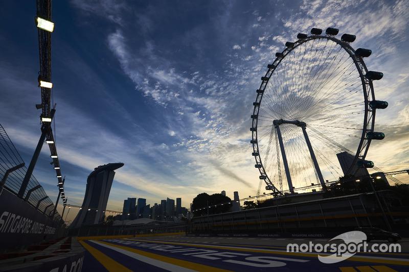 Chase Carey: GP de Singapura, 2016