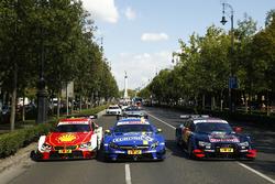 سيارات أوغوستو فارفوس، بي أم دبليو وبول دي ريستا، مرسيدس وجيمي غرين، أودي