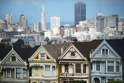 Una vista del horizonte de San Francisco