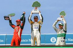 Podium, Guillermo Ortelli, JP Racing Chevrolet, Omar Martinez, Martinez Competicion Ford, Gaston Mazzacane, Coiro Dole Racing Chevrolet