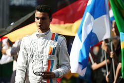 Pascal Wehrlein, Manor Racing, in der Startaufstellung