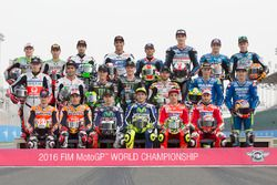 Photo de groupe des pilotes 2016