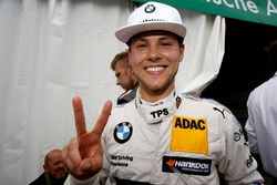 Pole setter Tom Blomqvist, BMW Team RBM, BMW M4 DTM