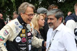 Lord March and Vicky Chandhok