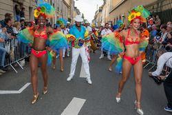 Bailarines del caribe