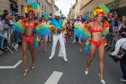 Caribbean dancers