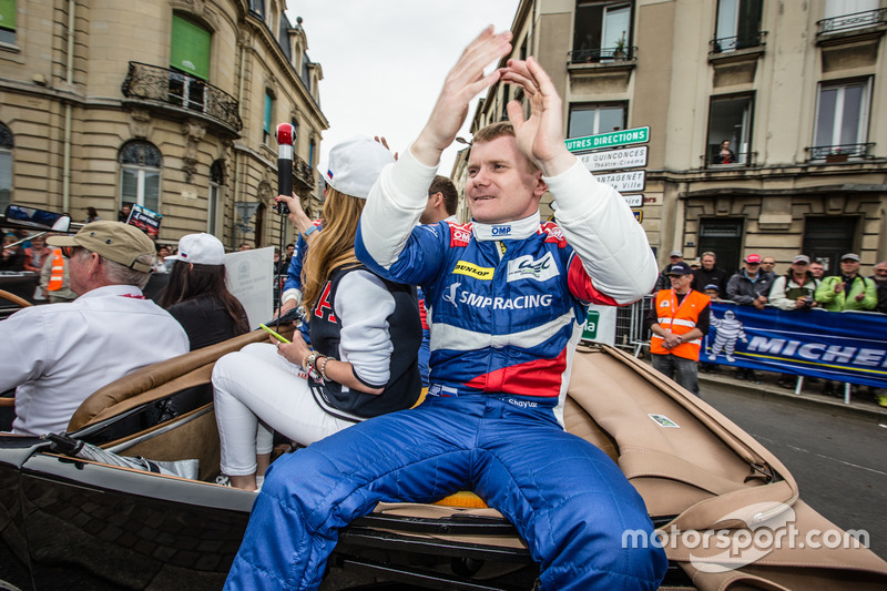 #37 SMP Racing BR01 Nissan: Viktor Shaytar