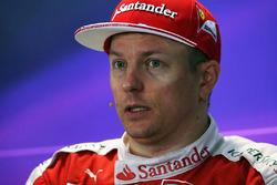Conférence de presse : le troisième, Kimi Raikkonen, Ferrari