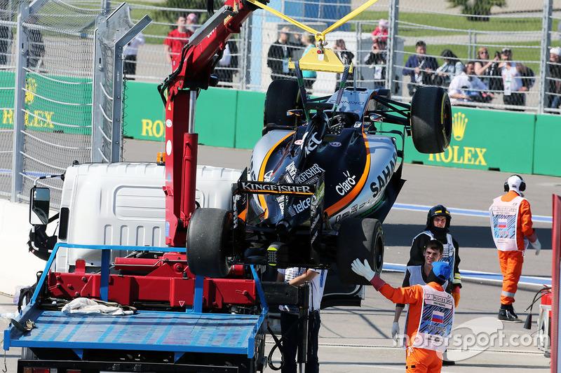 El Sahara Force India F1 VJM09 de Nico Hulkenberg, Sahara Force India F1