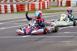 DKM winnaars race 2: Karol Basz; Clement Novalak; Paavo Tonteri; Bent Viscaal; David Brinkmann